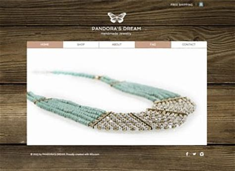 Handmade Jewelry Websites Sell - handmade jewelry template sell your goods with