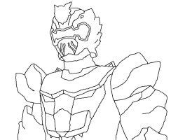 Robo Knight Coloring Page | power rangers megaforce robo knight coloring pages www