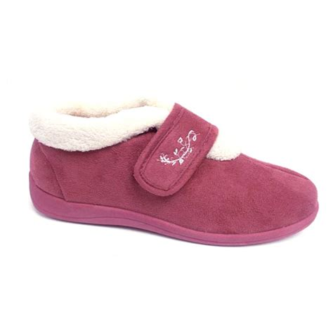 washable slippers dunlop slippers warm orthopedic velcro