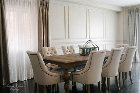 Diy Dining Room Chair Repair Restoration Hardware Inspired Diy Wainscoting Chair Rail