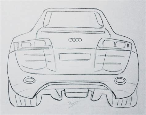how to draw an audi r8 drawingforall net search results for r8 draw to drive