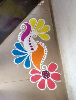 20 best small rangoli designs patterns for beginners