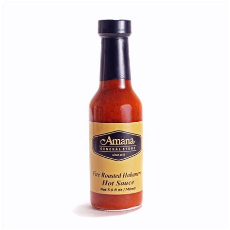 Free Product Sle Habanero Sauce by Roasted Habanero Sauce For Sale Amana General Store