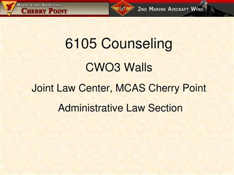 law section ppt 6105 counseling cwo3 walls joint law center mcas