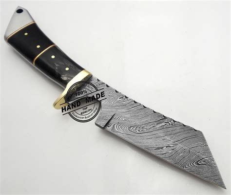 Handmade Damascus Knives - best damascus chef s skinner knife custom handmade