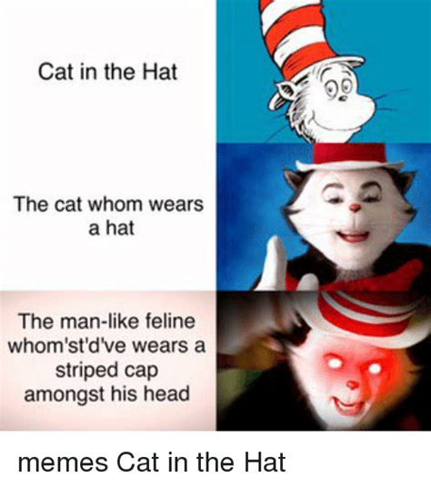 Cat In The Hat Meme - search fox hat memes on me me