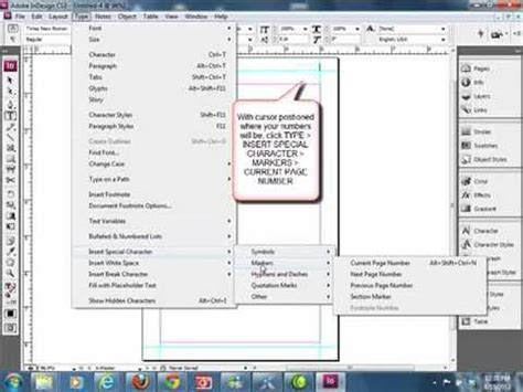 Setting Up A New Indesign Book Template Youtube Indesign Book Templates 6 X 9