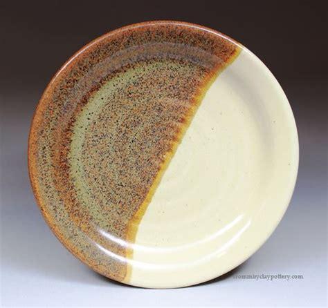 Handmade Pottery Dinner Plates - handmade pottery dinner plate stoneware pottery 10 inch