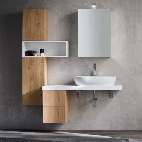 mensole per lavabo da appoggio idee mobile bagno moderno una mensola per il lavabo