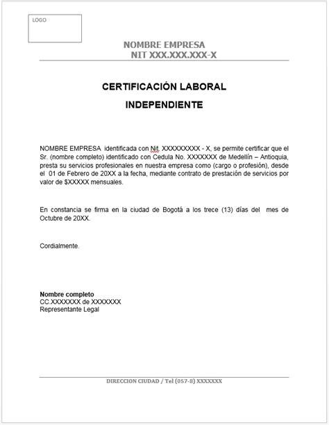 certificacion de ingresos por contador publico colombia pensamiento contable modelo certificaci 243 n laboral