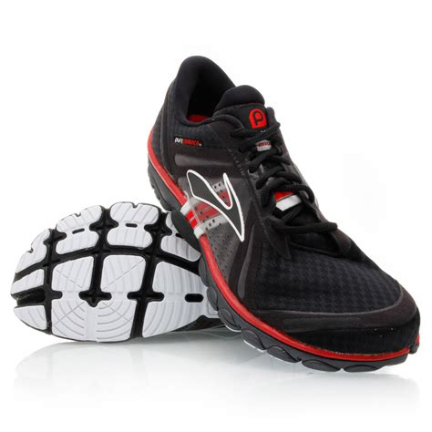purecadence running shoes purecadence mens running shoes black white