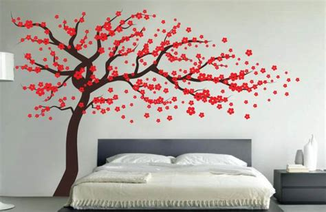 Red Wall Stickers Tree Wall Decals Add Style Amp Sophistication To Your Home