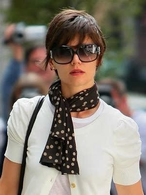 katie holmes short pixie haircut new color old haircut