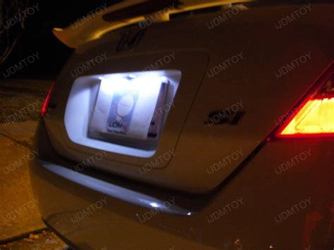 License Plate Led Light Bulb Xenon White 8 Smd 168 2825 T10 Led Replacement Bulbs For Car License Plate Light Ebay