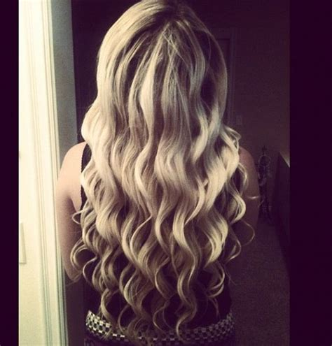 cute wand hairstyles wand curled hair this is how i want it to look you