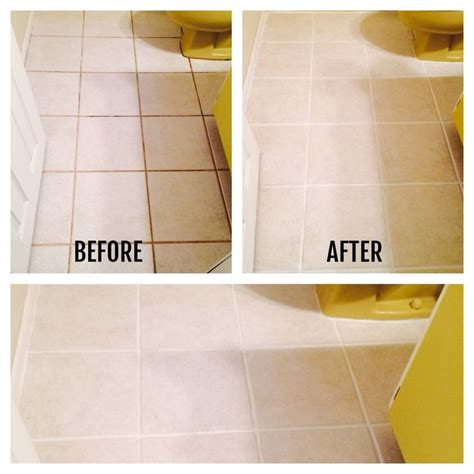 How To Clean Floor Tile Grout In Bathroom by Cleaning Bathroom Tiles Tile Design Ideas