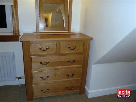 Handmade Bedroom Furniture Uk by Tailor Made Quality Oak Chest Of Drawers Incite Derby