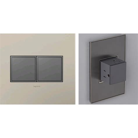 legrand adorne pop out outlets the green head magnesium pop out 2 gang outlet legrand adorne outlets