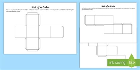 all about me cube template net of a cube net cube platonic solids activity building