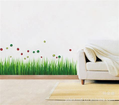 Grass Iii Ay768 Stiker Dinding Wall Sticker 50x70 Murah jual wall sticker 50x70 wall stiker transparan ay768 grass n bugs radja dinding