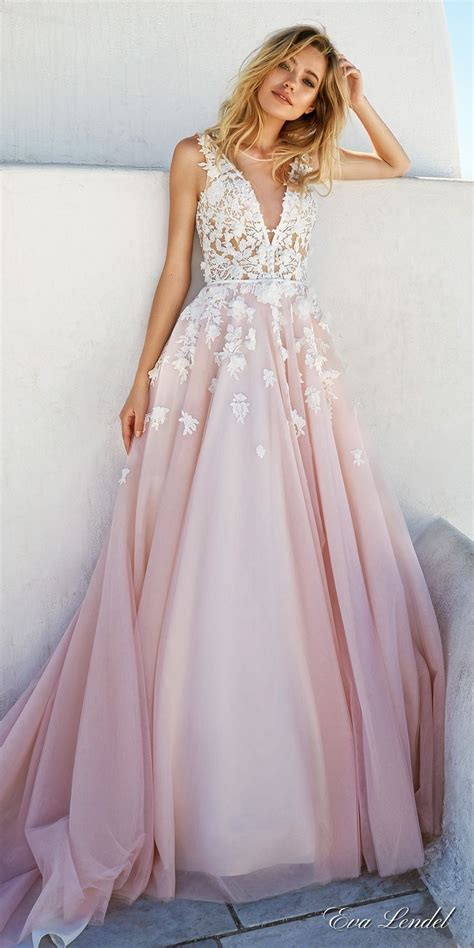 colored wedding dress 25 best ideas about blush wedding dresses on
