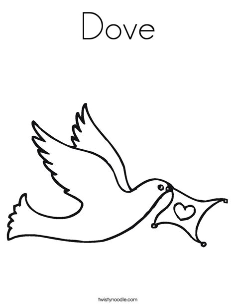 coloring page dove white dove coloring page coloring home