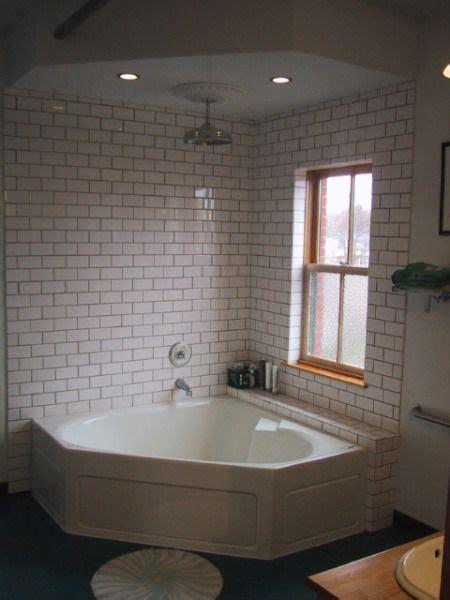 open shower tub bathtub shower combo corner tub