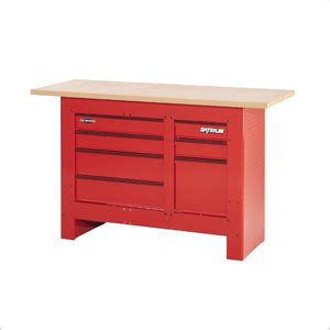 waterloo work bench houseofaura com garage workbench with drawers sealey