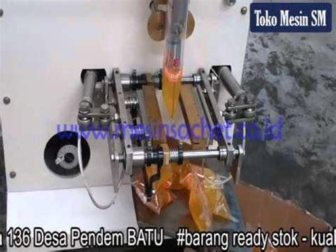 Minyak Goreng Sachet mesin packing mesin sachet pengemas minyak goreng cv