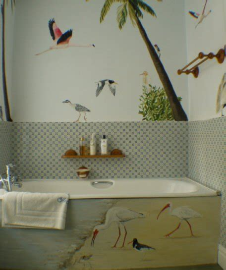 bathroom wall murals uk bathroom mural jess arthur mural artist