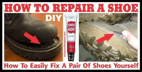 diy shoe repair removeandreplace diy projects tips tricks