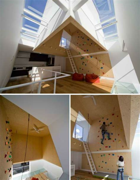 home climbing wall plans domestic daredevils 12 insanely cool home climbing walls urbanist