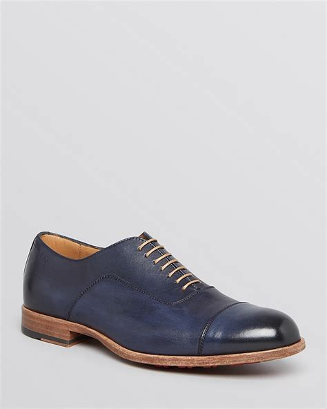navy oxford shoes hugo jornio cap toe oxfords where to buy how