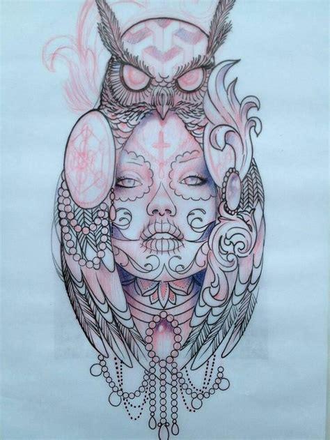 pretty skull tattoos 24 best sugar skull outlines images on