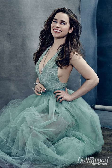 emilia clark emilia clarke the hollywood reporter photoshoot 2015