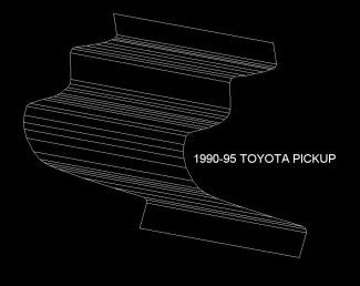 Toyota Bed Replacement Panels by Toyota Truck Rust Repair Panels