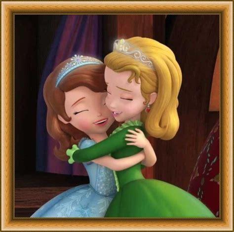 Princess Sofia And Princess Amber In Sofia The First | sofia and amber sophia the first pinterest