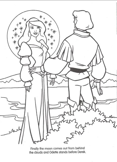 Image Swan Princess Official Coloring Page 35 Png The Swan Princess Coloring Pages