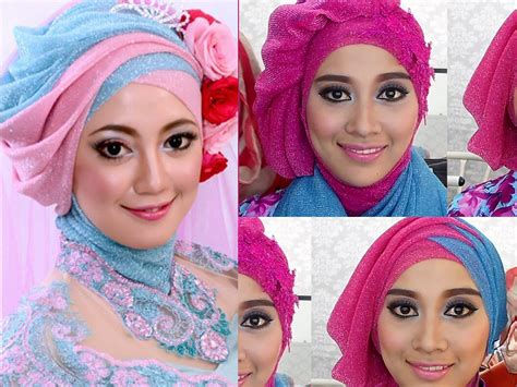 tutorial jilbab pesta tile tutorial hijab satin segi empat pesta by didowardah