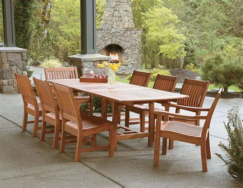 luxury patio furniture oak home ideas collection