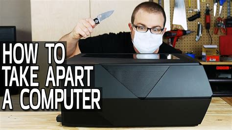take appart how to take apart a computer youtube