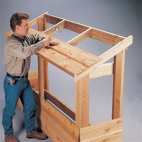 firewood shelter  brennholz lagerung brennholz