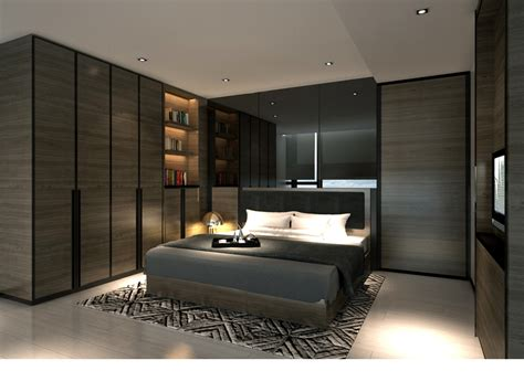 l2ds lumsden leung design studio service apartment interior design mocha