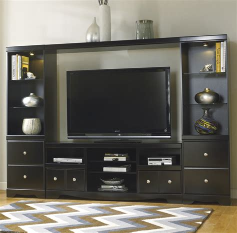 entertainment unit design signature design by shay entertainment wall unit household furniture wall unit
