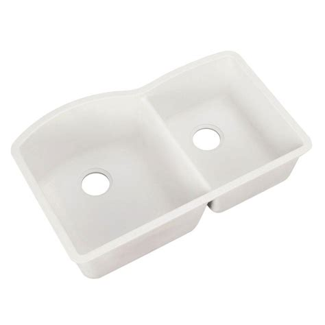 White Undermount Kitchen Sink by Blanco Undermount Granite 32 In Bowl