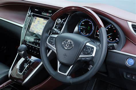 lexus harrier 2014 interior 2014 toyota harrier new exterior and interior photos
