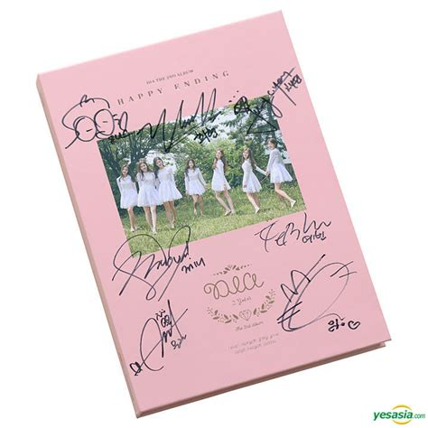 Dia Generation Album Limited Edition yesasia recommended items dia vol 2 happy ending all members autographed cd limited