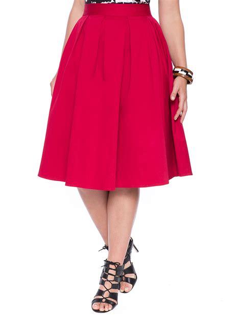studio midi skirt s plus size skirts eloquii