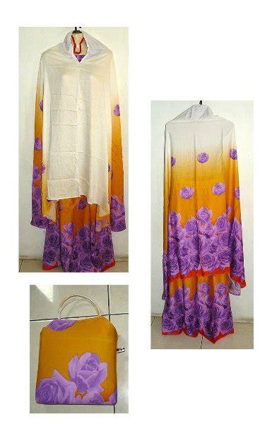 Mukena Bali Rayon Bunga jual beli mukena rayon motif bunga putih mukena bali