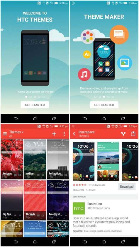 app themes a close look at htc s sense 7 0 features